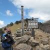 大菩薩峠 登山道は春の雪景色 秀麗な富士山に感動