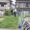 環境整備ボランティアの方の草刈り 職員作業