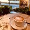 換気の良すぎるカフェでカプチーノ【AUX BACCHANALES】