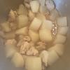 【苦くない】大根と鶏肉の煮物作りました