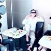 SMT香港にいく兄さんとこどもたち