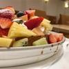 フルーツの山盛り感がすんごい新宿の定番モーニングにしたいお店