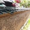 土塀の補修のワークショップに参加