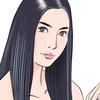 【似顔絵】液タブ『Parblo Coast 16』で有名人を描いてみる。〜 菜々緒さん