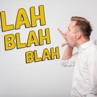 「Blah」の意味とは?使い方の解説や例文も
