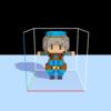 MagicaVoxel→Blender→Unityでボクセルモデルを動かす②