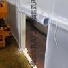 愛知県 工場内のクリーンルームテント