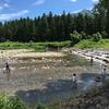 GW、夏休みはここ!1歳から川遊びデビュー「登川河川公園(新潟県南魚沼市)」をご紹介!