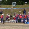 風が冷たい中での福島県水防訓練ー水害から生命・財産を守る訓練