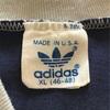 619 美品 ビンテージ adidas VネックTシャツ 80's