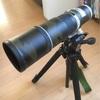 カモフラ加工 自作レンズコート EF400mm f5.6L