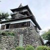 丸岡城の天守への道のりはけっこう厳しい (ΦωΦ)フフフ・