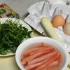 ご飯少なめ卵とかにの炒飯