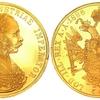 オーストリア ハンガリー帝国1886年4ダカット フランツ ヨーゼフ