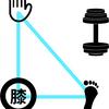 【運動】背筋(広背筋)を鍛えるトレーニング:ワンハンドローイング