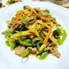 青椒牛肉絲のレシピ