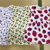 西松屋購入品とフラミンゴTシャツ