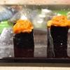 豊洲の「大和寿司」でお好み(うに食べ比べ、のどぐろ、煮いか他)。