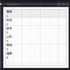 デザイン時におけるサンプルデータの表示 その1