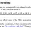 ARMの命令セットの条件指定について