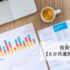 投資信託編【6ヶ月の運用実績報告】