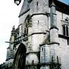 シスレーの描いたモレの教会
