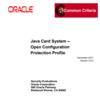 Java Card Protection Profile