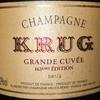 Krug Grande Cuvee 163 Edition