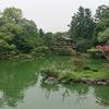 京都御苑・九条邸跡 厳島神社 古代の浮島様式と日本庭園のコラボ 美しい景色【シマから遥拝するクニウミ式】