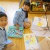 「嬉しいな♪世界で一つの自分だけの傘!!」年長アートの日~明泉高森幼稚園(年長)~2018.5.18