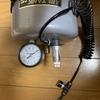 ガスガン用エアタンクにドレンコックを追加
