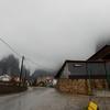 雨のメテオラ観光