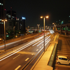 神戸夜景の定番その4 阪神高速 京橋PA(西行き)
