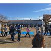 吉井町片山で玉入れ大会