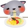 「普通の」冷やし中華やめました。ニラ肉味噌プラスでパンチ力アップ!