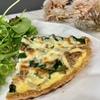 【レシピ】ケト食『おからパウダーのキッシュ』ケトジェニックダイエット5日目