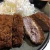飲食:豚珍館の厚切りとんかつ(新宿)