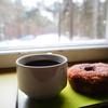 雪景色を見ながらフィンランド1美味しいドーナツを食べた日(タンペレ/世界一周20日目)