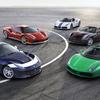 フェラーリ70周年を記念した5種類の限定モデルを公開