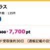 【ハピタス】セブンカード・プラスが期間限定7,700pt(7,700円)にアップ!