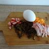 きゅうりのキューちゃんで炒飯を作りました
