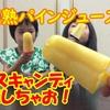 <UP>パインジュースをアイスキャンディーにしちゃおう!【ひなはづチャンネル】