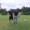 今日は、無線の仲間とゴルフ。