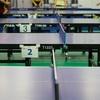 合宿前の上海中日の橋卓球クラブ練習