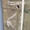 自動車事故によるブロック塀の保険修理のご依頼です!