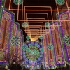スペイン*2018*バレンシア〜サン・ホセの火祭り②歌と光のショー!花火とイルミネーション