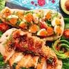 簡単ブランチに☆鶏チャーシューナンと味玉ナン