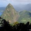 セントルシア セントルシアの世界遺産ピトン
