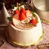 クリスマスデコレーションシフォンケーキ
