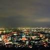 夜景の綺麗な高塔山 昔は城があった 福岡県北九州市若松区